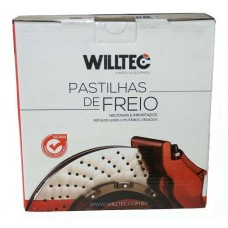 Pastilha Freio Traseira Willtec - Honda New Civic PW267